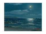 Full Moon, Pichilemu, Chile, 1958 Giclee Print by Horacio G. Garcia