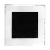 Black Square Giclee Print by Kasimir Malevich