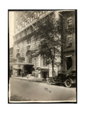 View of the Robert Treat Hotel, Newark, New Jersey, 1916 Giclee Print by  Byron Company