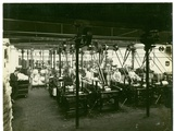 Spinning Mill in Leas, Combing Shed, 1923 Photographic Print by  English Photographer