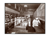 The Kitchen at the Philadelphia Ritz-Carlton Hotel, 1913 Giclee Print by  Byron Company