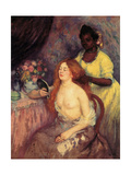 The Toilet, c.1903 Giclee Print by Ricardo Canals y Llambi