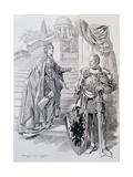 The Stain of Censure, from 'Punch', 1906 Giclee Print by Edward Linley Sambourne