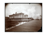 View of Hotel Rudolf, Atlantic City, New Jersey, 1908 Giclee Print by  Byron Company