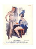 Un Incompris, Illustration from 'Le Sourire', 1920s Giclee Print by Georges Leonnec