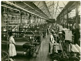 Chenille Weft Weaving, Carpet Factory, 1923 Photographic Print by  English Photographer
