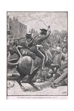 The Peterloo Massacre with the Hussars Charging the People, Illustration from Cassell's… Giclee Print by Henry Marriott Paget