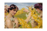 When Flowers Return, c.1911 Giclee Print by Sir Lawrence Alma-Tadema