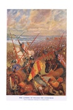 The Landing of William the Conqueror Giclee Print by Bernard Granville-Baker