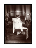 Portrait of Mrs. I. M. Clark at an Organ, 1904 Giclee Print by  Byron Company