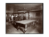 The Bar at Janer's Pavilion Hotel, Red Bank, New Jersey, 1903 Giclee Print by  Byron Company