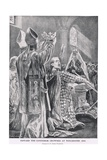 Edward the Confessor Crowned at Winchester, 1043, from 'Hutchinson's Story  Giclee Print by Richard Caton Woodville