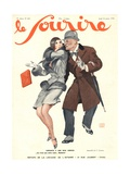 Front Cover of 'Le Sourire', January 1930 Giclee Print by Georges Leonnec