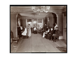 Recital in the Music Room at Janer's Pavilion Hotel, Red Bank, New Jersey, 1903 Giclee Print by  Byron Company