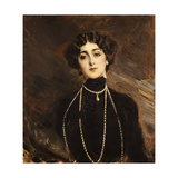 Portrait of Lina Cavalieri, c.1901 Giclee Print by Giovanni Boldini