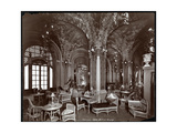 The Tea Room at the Hotel Prince George, 1907 Giclee Print by  Byron Company