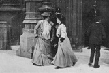 Suffragettes Turned Away, Illustration from an Article Entitled 'The Reassembling of Parliament'… Photographic Print by  English Photographer