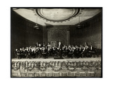 Full Orchestra on Stage, New York, 1911 Giclee Print by  Byron Company