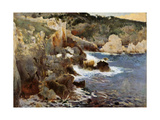 Enchanted Cove, Majorca, c.1901 Giclee Print by Joaquin Mir Trinxet