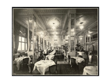 A Dining Room at the Robert Treat Hotel, Newark, New Jersey, 1916 Giclee Print by  Byron Company
