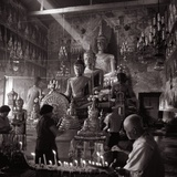 Worshippers in the Temple Photographic Print