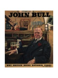 Front Cover of 'John Bull', March 1946 Giclee Print by John Kynnersley Kirby