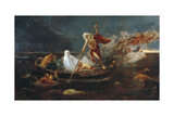 Charon's Boat Giclee Print by Jose Benlliure Y Gil