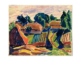 Landscape, 1908-12 Giclee Print by Alexej Von Jawlensky