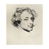 Self Portrait, from 'The Print-Collector's Handbook' by Alfred Whitman, Published by George Bell… Giclee Print by Sir Anthony van Dyck