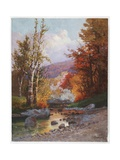 Autumn in the Berkshires, c.1919 Giclee Print by Christian Jorgensen