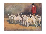 Master and Hounds, Illustration from 'Hounds' Giclee Print by Thomas Ivester Lloyd