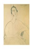 Hanka Zborowska, c.1917 Giclee Print by Amedeo Modigliani