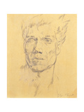 Head of a Man, c.1920 Giclee Print by Glyn Warren Philpot
