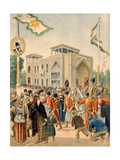 The Persian Pavilion at the Universal Exhibition of 1900, Paris, Illustration from 'Le Petit… Giclee Print by  French School