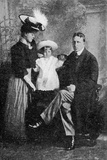 William Randolf Hearst and His Family, Published in 'The Graphic' October 27th 1906 Photographic Print by  American Photographer