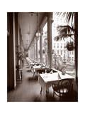 The Veranda at the Park Avenue Hotel, 1901 or 1902 Reproduction procédé giclée par  Byron Company