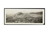 Bird's-Eye View of a City, Presumably on or Near the Panama Canal, 1913 Giclee Print by  Byron Company