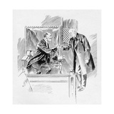The Prime Minister Greets the Serjeant-At-Arms, from an Article Entitled 'The Reassembling of… Giclee Print by Ralph Cleaver