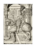 Maximilian I of Habsburg, from 'The Print-Collector's Handbook' by Alfred Whitman, Published by… Giclee Print by Hans Burgkmair