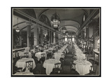 The Roof Garden Restaurant at the Hotel Pennsylvania, 1919 Giclee Print by  Byron Company