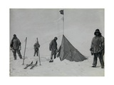 Forestalled: Amundsen's Tent at the South Pole, 18th January 1912 Giclee Print by Lieutenant Henry Robertson Bowers