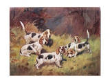 Waiting, Illustration from 'Hounds' Giclee Print by Thomas Ivester Lloyd