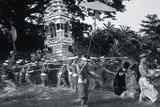Procession Carrying Offerings to a Monastery, 1985 Photographic Print