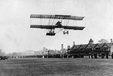 Grahame White Flying His Machine from the Ranelagh Club, the Same Year as the Manchester Flight,… Photographic Print by Thomas E. & Horace Grant