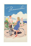Poster Advertising Bermuda, c.1956 Giclee Print by Adolph Treidler