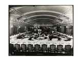 Table Set for a Banquet at the Ritz-Carlton Hotel, 1913 Giclee Print by  Byron Company