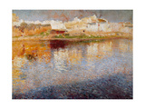 Reflections, Majorca, 1904 Giclee Print by Joaquin Mir Trinxet
