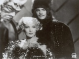 "Still from the Film ""The Scarlet Empress"" with Marlene Dietrich and John Lodge, 1934 Photographic Print by  German photographer"