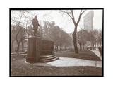 David Glasgow Farragut Statue in Madison Square Park, New York, c.1905 Giclée-Druck von  Byron Company