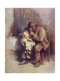 Motherless Giclee Print by Sir Samuel Luke Fildes